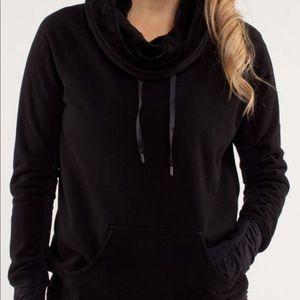 Lululemon sweatshirt with cowl neck.